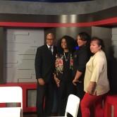 Chiropractor Dr Maysonet with Hispanic Chamber Staff